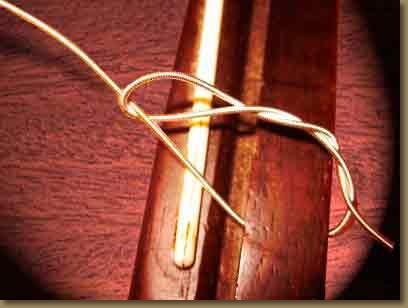 changement de cordes chevalet uke